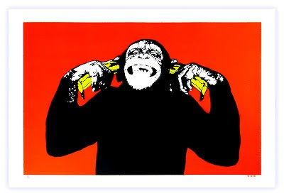 "Dot Dot Dot ""Monkey Buziness…"" New Print Available Now"