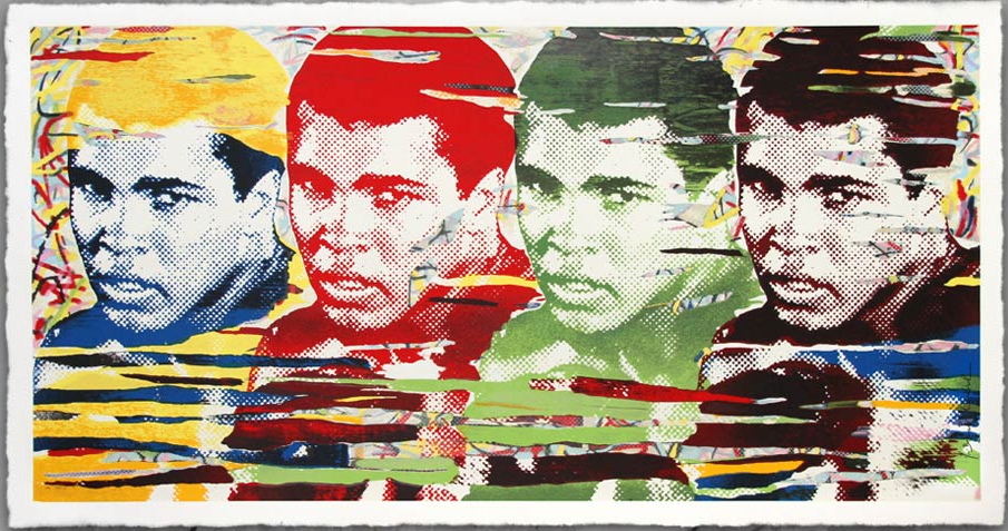 "Mr Brainwash ""The Greatest"" Limited Edition Screen Print"