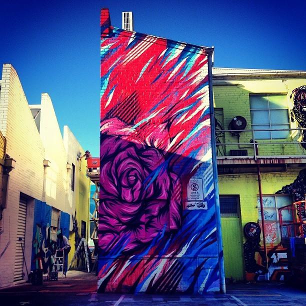 Meggs New Mural in Melbourne, Australia