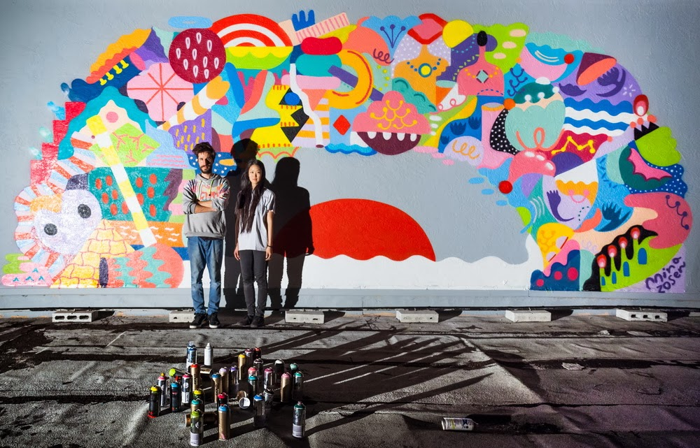 Mina Hamada x Zosen x Kenor In Miami For Art Basel '13