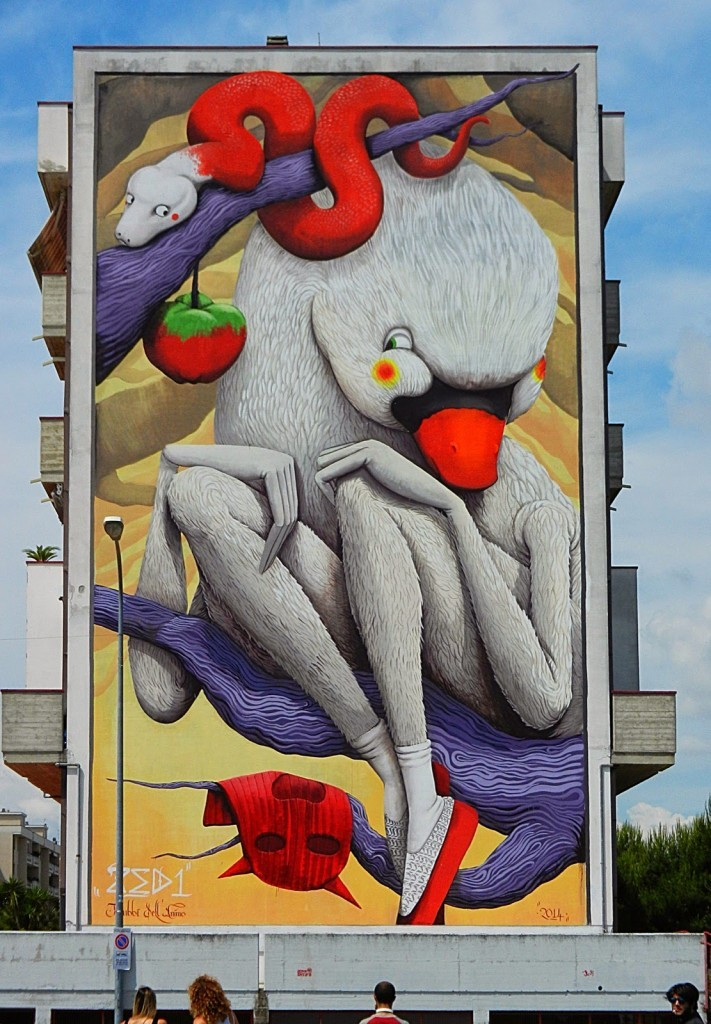 ZED1 New Mural – San Benedetto Del Tronto, Italy