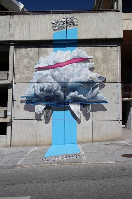 Never Crew reveal a new mural in Crans-Montana, Switzerland