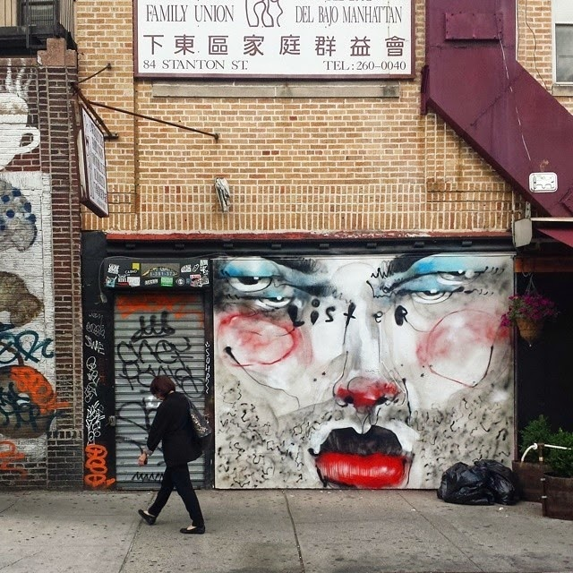 Lister New Mural – Lower East Side, New York City