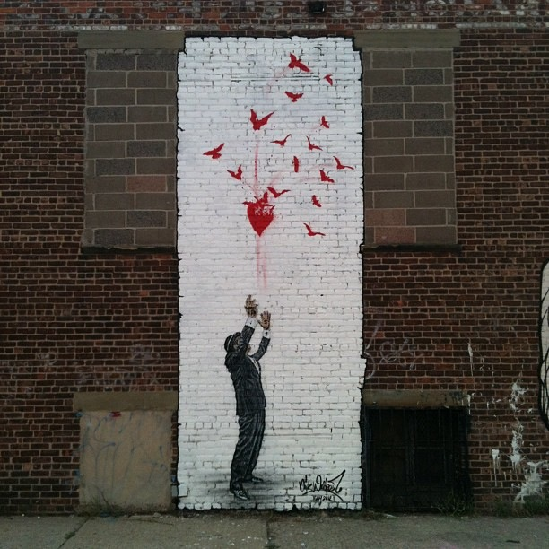 Nick Walker New Street Piece In New York City, USA (Part II)
