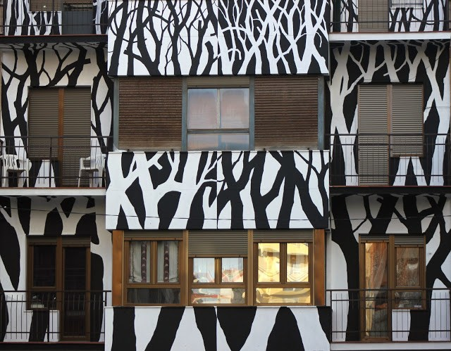 "Pablo S. Herrero ""Nest"" New Street Piece – Salamanca, Spain"