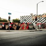 Nunca New Mural In Los Angeles, USA