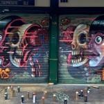 Nychos New Mural In Vienna, Austria