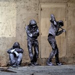 "Levalet creates ""Open Doors"", a new street piece in Paris, France"