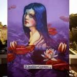 Natalia Rak New Mural For No Limit Boras – Boras, Sweden