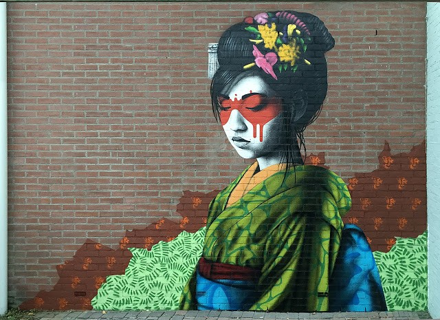 """Oralali"", a new mural by Fin DAC in Breda, Netherlands"