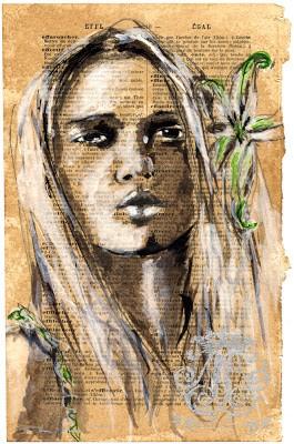 Pam Glew Original Drawings
