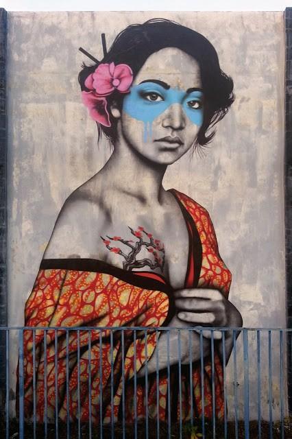 """Fin DAC """"Orinoko"""" New Street Art – Wynwood, Miami"""