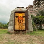 "Os Gemeos reveal a permanent installation ""Bunker"" @ Museu Casa do Pontal"