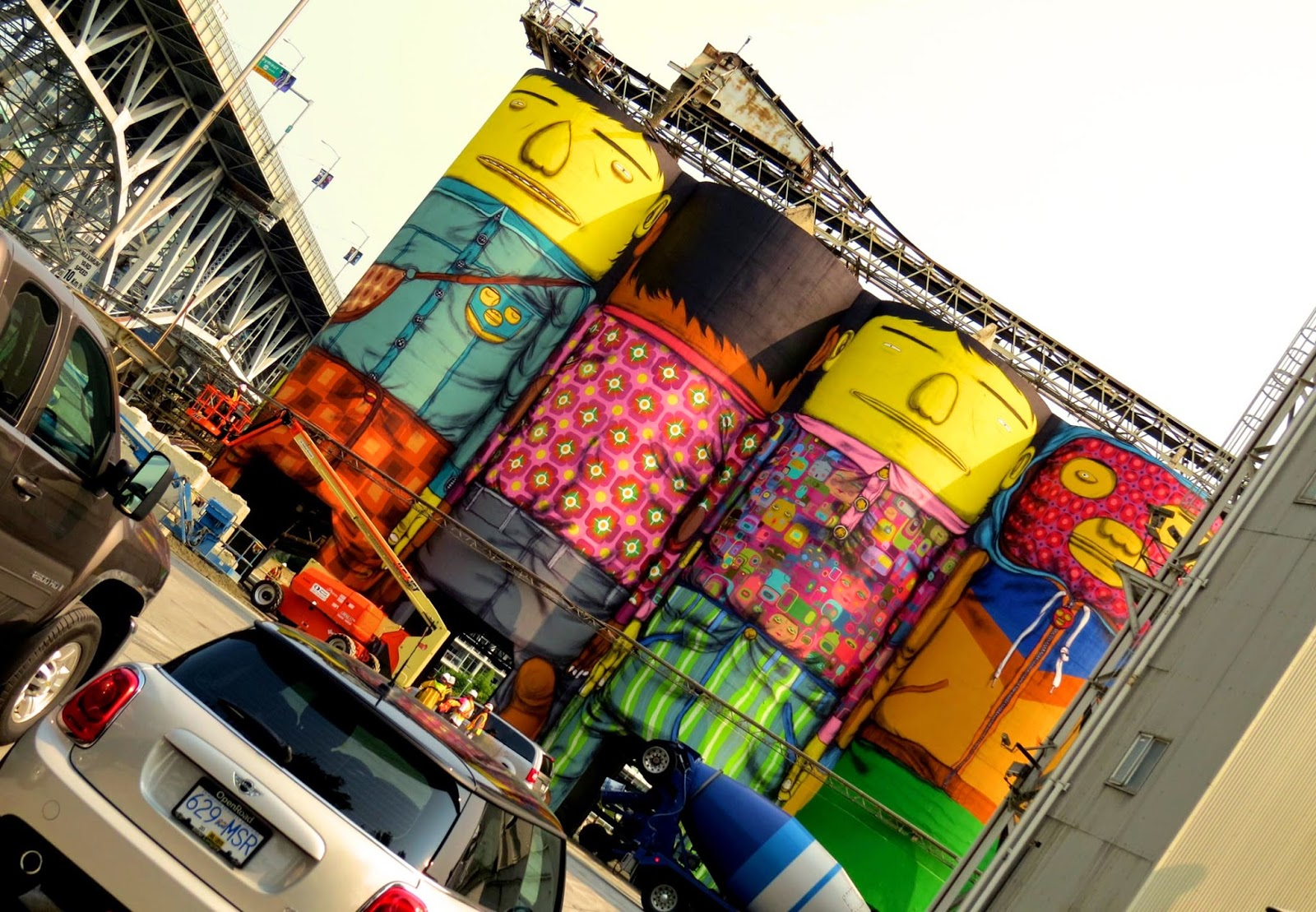 Os Gemeos Work In Progress - Vancouver, Canada (Part II)