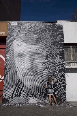 STEN & LEX New Mural In Roma, Italy