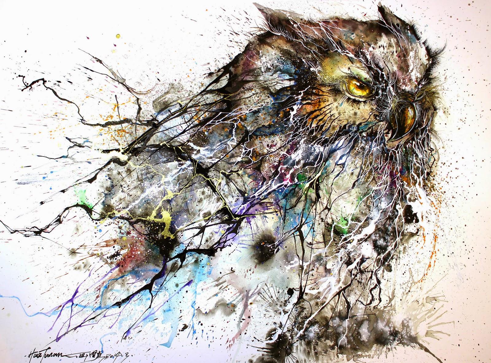 "Hua Tunan ""Night Owl"" Limited Edition Print - Available April 3rd"
