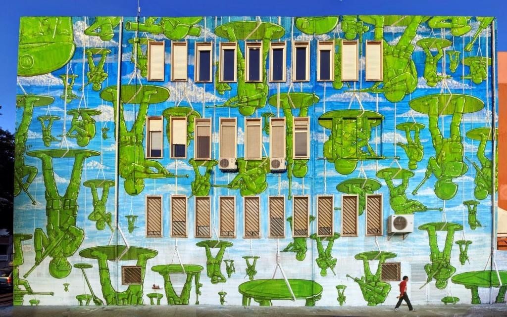 Blu New Mural – Sardinia, Italy