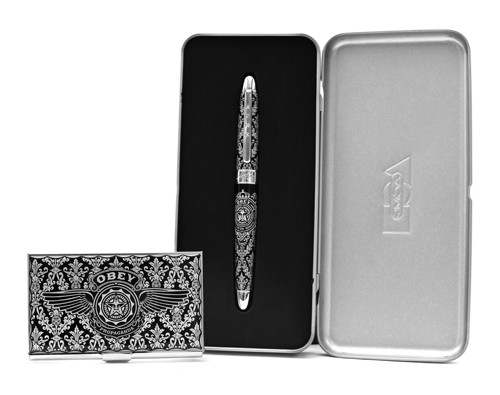Limited Edition Obey Pen and Card Case