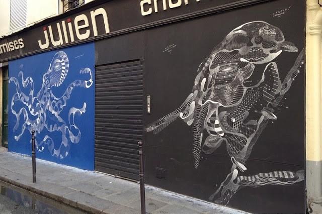 Philippe Baudelocque New Murals – Paris, France