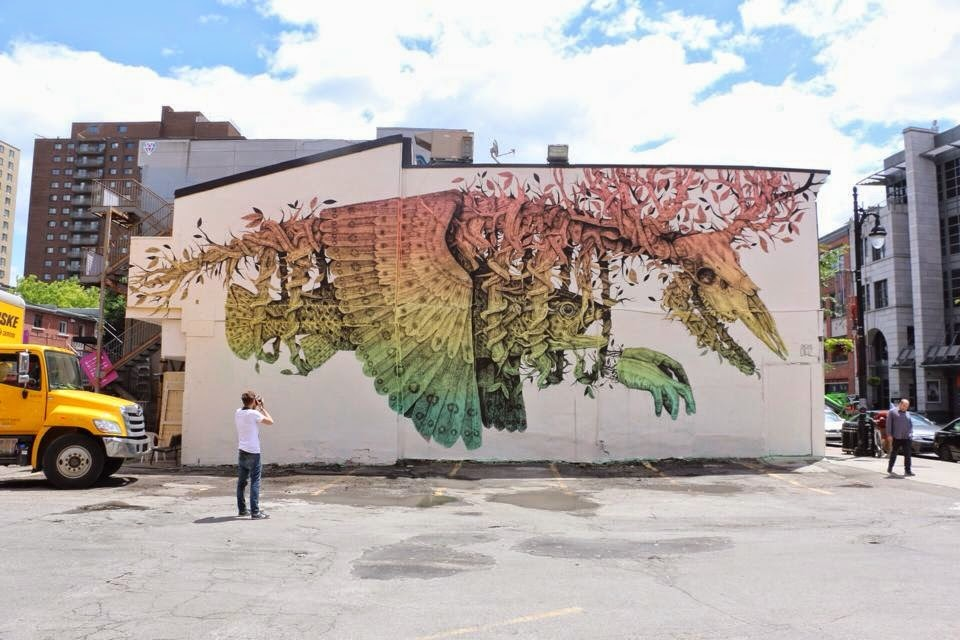 Alexis Diaz New Mural – Montreal, Canada