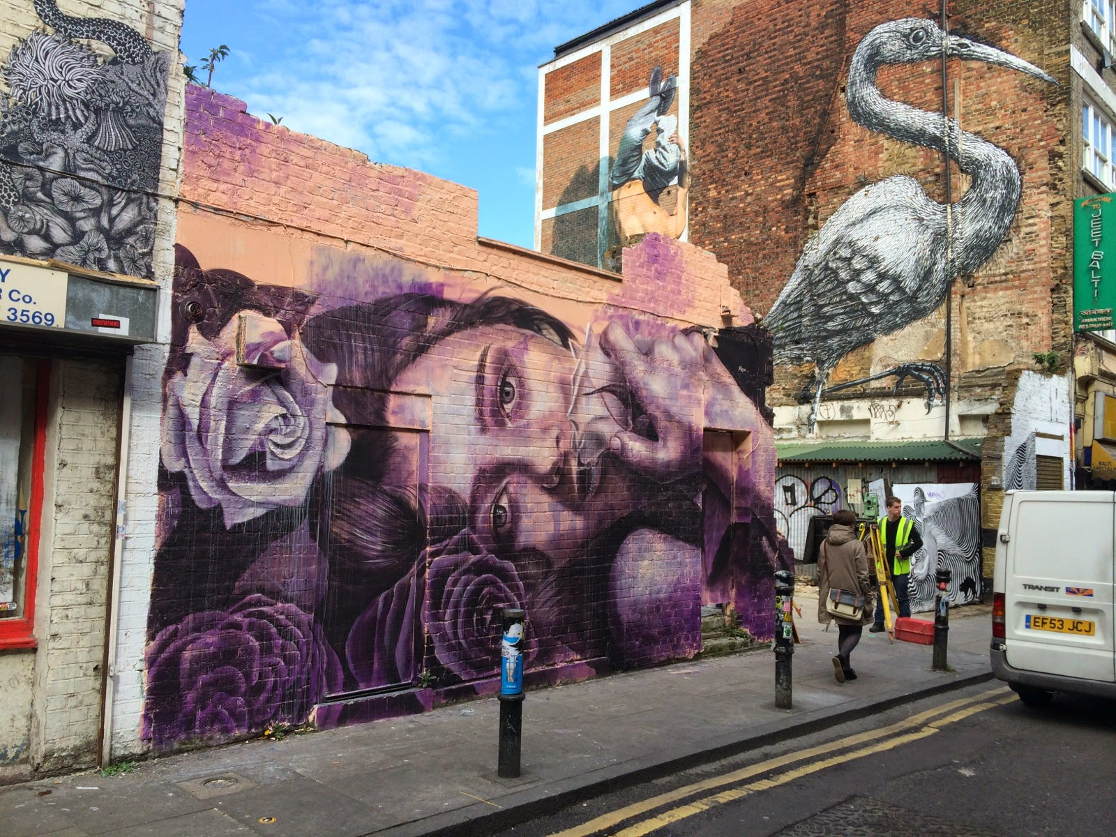Rone New Mural London Uk Streetartnews Streetartnews
