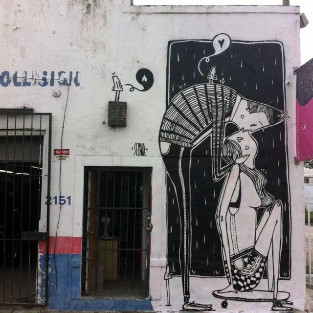 Alex Senna New Street Pieces For Art Basel '13 – Miami, USA