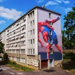 JAZ New Mural For Bien Urbain '14 – Besancon, France