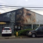 Norm x Defer x Kamea Hadar New Mural For POW! WOW! 2014 – Honolulu, Hawaii