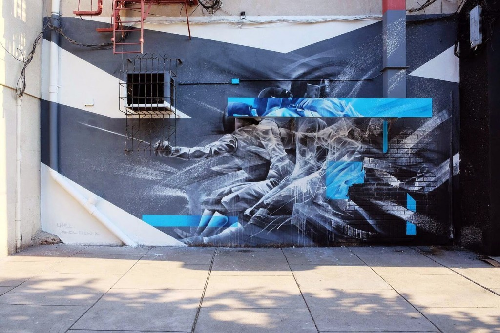 Li-Hill New Mural – Jersey City, USA