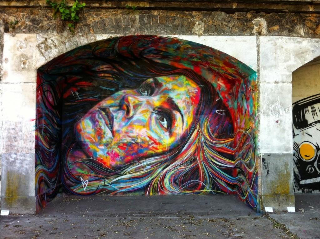 David Walker New Mural – Aubervilliers, France