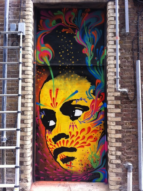 Stinkfish New Mural In London
