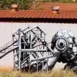 Phlegm New Mural – Port Hedland, Western Australia