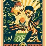 "Shepard Fairey ""Peace Corps"" 50th Anniversary New Print Available Now"