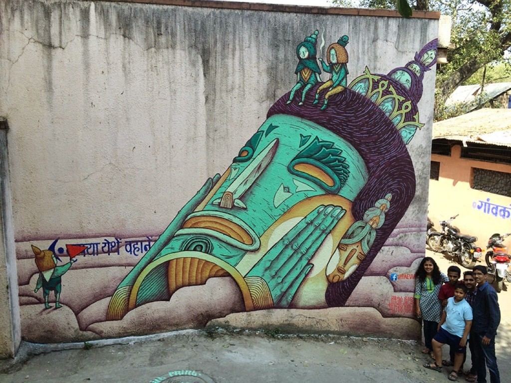 VitaeViazi paint a series of new pieces in India (Part II)