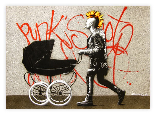 "Martin Whatson ""Punk's Not Dead"" New Edition Available March 25th"