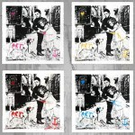 "Mr Brainwash ""Pup Art"" New Print Available May 15th"