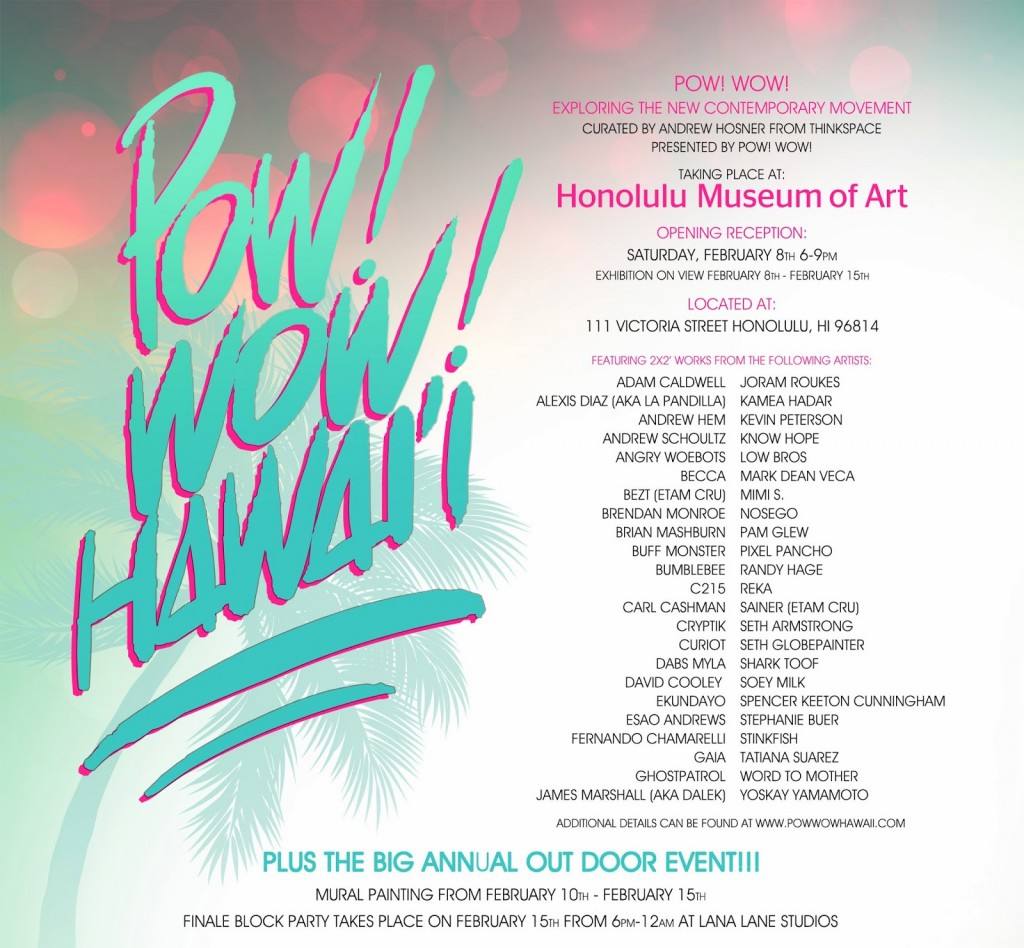 Preview: POW! WOW! Hawaii 2014
