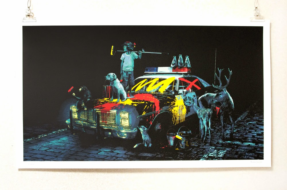 "Roamcouch ""Revolution""&""Rainbow Inc./Brooklyn Bridge"" Limited Edition Screen Prints"
