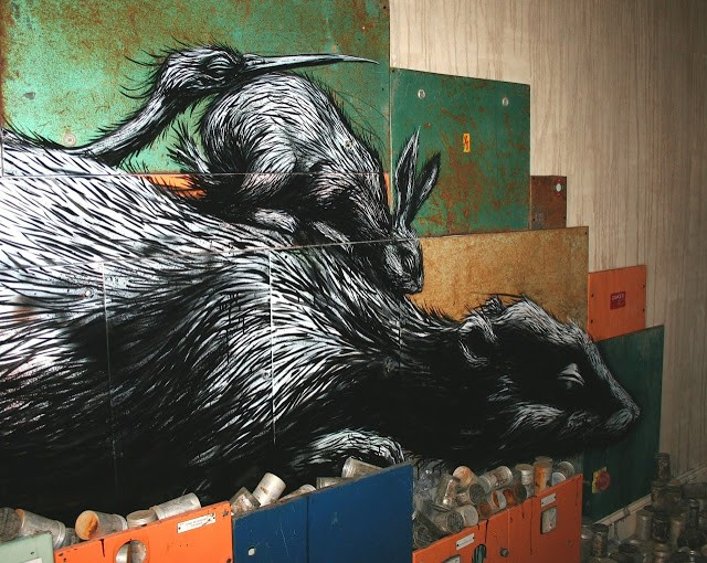 """ROA """"Hypnagogia"""" London Solo Show Opening Coverage"""