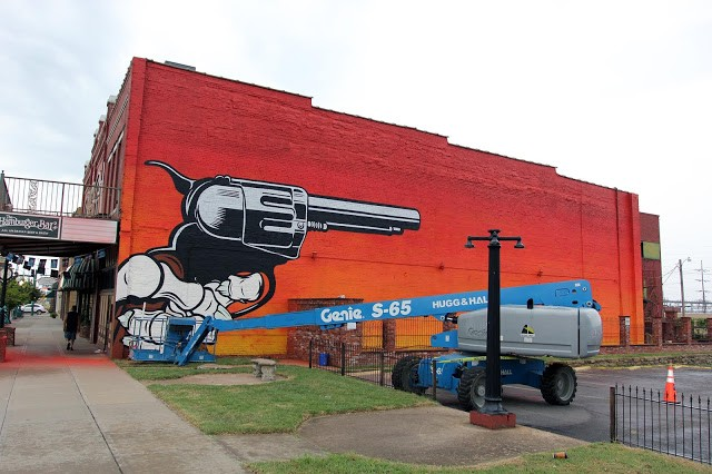 Unexpected '15: Work In Progress by D*Face in Fort Smith, Arkansas