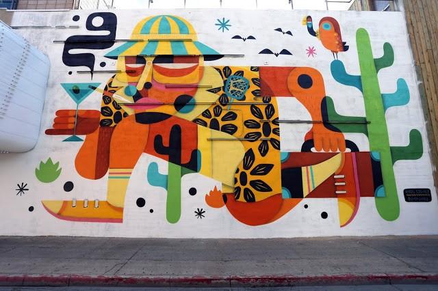 Life Is Beautiful '15: Ruben Sanchez unveils a new mural in Downtown Las Vegas