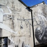 Phlegm x Run New Street Art For Empty Walls Festival '13 – Cardiff, Wales