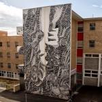 "2501 ""The Narrow Passage"" New Mural For Public Festival – Fermantle, Australia"