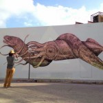 Alexis Diaz New Mural For Art Basel '13 – Miami, USA