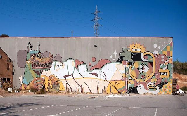 Aryz x Vino x Gr170 New Mural – Spain