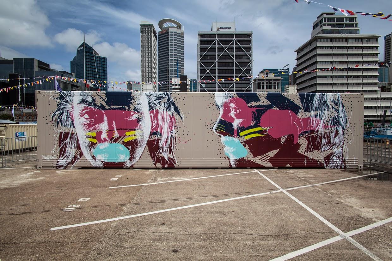 Askew New Piece - Auckland, New Zeland