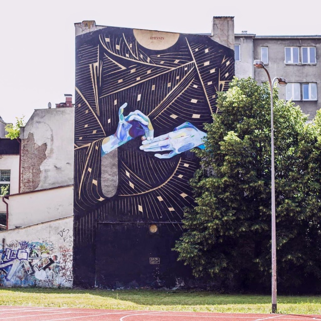 Basik New Mural For Traffic Design – Gdynia, Poland