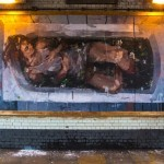 "Borondo ""Adam & Eve"" New Murals – East London, UK"