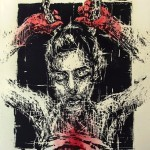 "Borondo ""El Peso De La Corona"" Limited Edition Screen Print – Available Today"