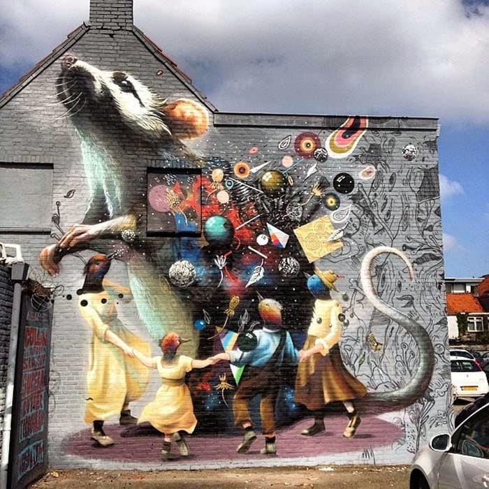 0ab277795131 Collin Van Der Sluijs x Super-A x Rutger Termohlen New Mural - Breda ...